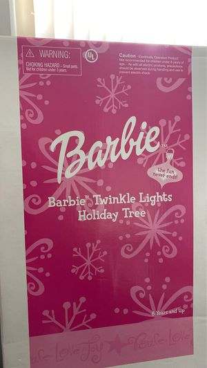 Barbie Twinkle Lights Holiday Tree **New, Never Opened!* for Sale in Mesa, AZ