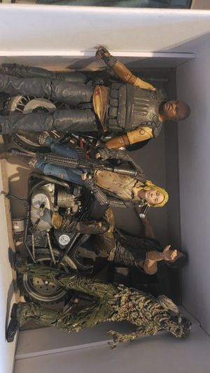 The Walking Dead action figures for Sale in Baltimore, MD