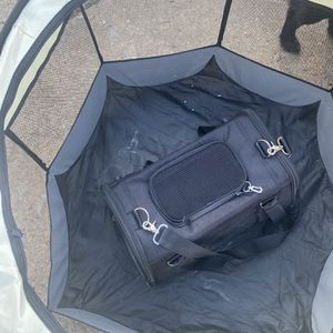 Dog/Cat Carrier And Playpen , Pet Purse/Cage, Excerise for Sale in Marlow Heights, MD