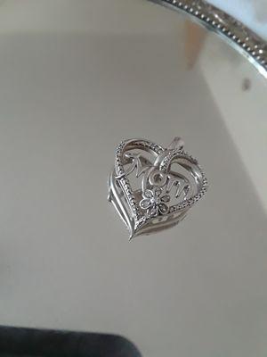 Silver Mom Necklace Charm for Sale in Wichita, KS