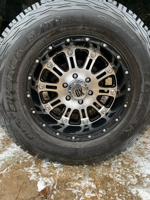 XD series rims and cooper at2 tires tires have 95% tread for Sale in Bells, TN