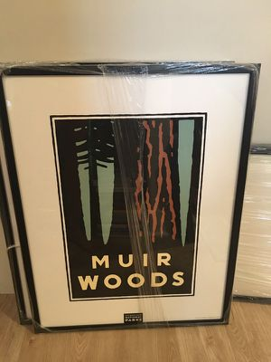 Muir Woods - Framed poster for Sale in Baltimore, MD
