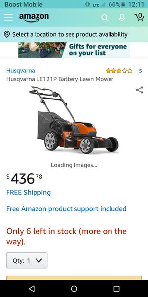 Husqverna self-propelled lawn mower for Sale in Kissimmee, FL
