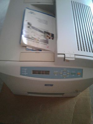 Minolta QMS magicolor Desk laser printer for Sale in Powder Springs, GA
