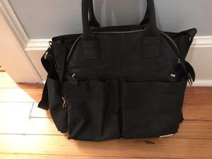 Skip Hop Chelsea Downtown Chic Diaper bag Satchel, Black for Sale in Nutley, NJ