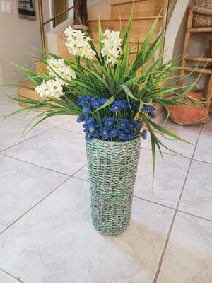 Vase with Artificial Flowers for Sale in San Diego, CA