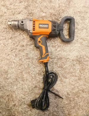 Ridgid ZRR7122 9.0 Amp 1/2 in. Spade Handle Mud Mixing Drill for Sale in Oakland Park, FL