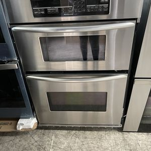 "Kitchen Aid 30"" Microwave Oven Combo In Stainless Steel Used for Sale in Riverside, CA"
