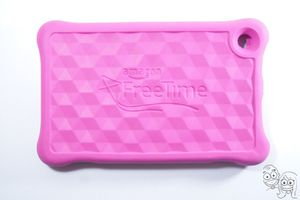 Amazon - Kid-Proof Case for Amazon Fire HD 8 Tablet (7th Generation) - Pink for Sale in Rancho Cucamonga, CA