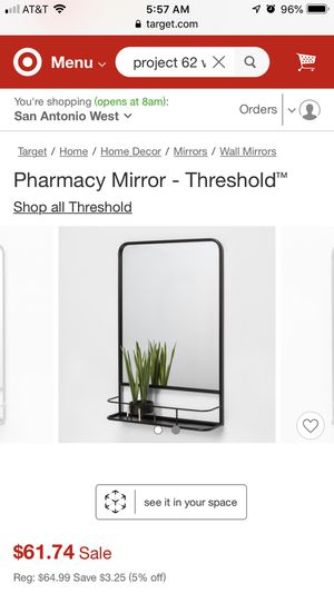Wall mirrors with shelf for Sale in San Antonio, TX