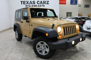 2013 Jeep Wrangler for Sale in Carrollton, TX