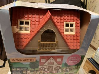Calico Critters Barely Used 4 Houses 22 Critters An Accessories  for Sale in Cypremort Point, LA