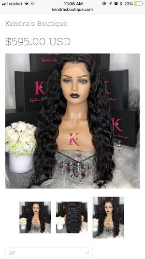 Kendra boutique FULL LACE BODY WAVE WIG for Sale in Boston, MA
