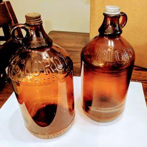 1940s antique glass Clorox bottles for Sale in Las Vegas, NV