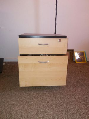 2 drawer cabinet with lock for Sale in Denver, CO