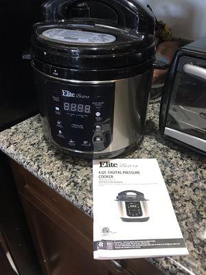 Elite Bistro 4 Quart Pressure Cooker for Sale in Anaheim, CA