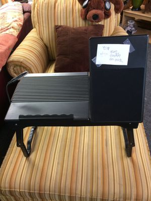 Laptop fold up desk with light for Sale in Angier, NC