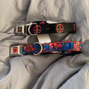 Marvel Spiderman And Deadpool Dog Collar for Sale in Norwalk, CA