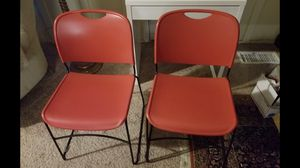 Seven Lovely Red Chairs for Sale in Lithonia, GA
