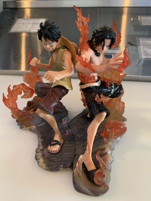 One Piece DX Luffy and Ace Brotherhood Figures for Sale in Silver Spring, MD