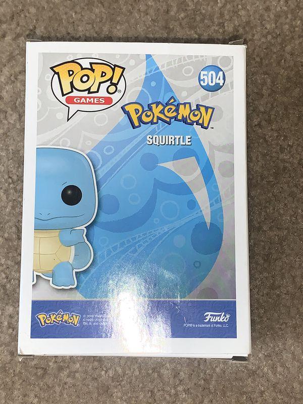 Pokémon Squirtle Funko Pop
