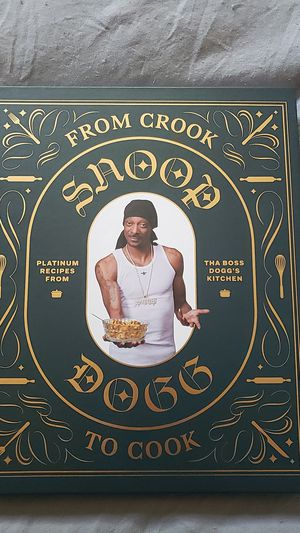 Snoop Doggs cookbook Brand New for Sale in San Mateo, CA