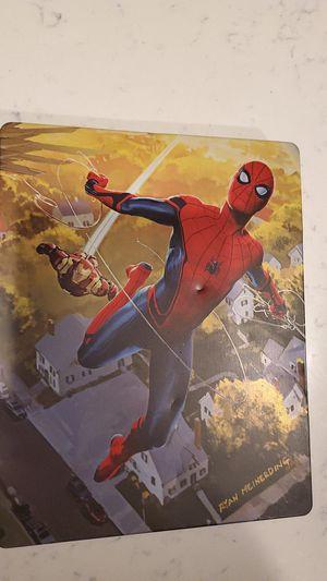 4k Steelbook Movie- Spiderman Homecoming for Sale in Bellflower, CA