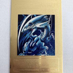 BLUE EYES WHITE DRAGON YUGIOH METAL CARD for Sale in Anaheim, CA