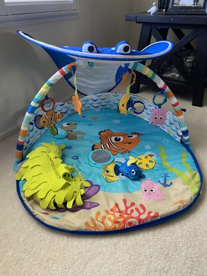 Disney Baby Finding Nemo Mr. Ray Ocean Gym__SEE ALL PICS for Sale in Riverside, CA