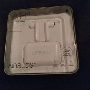 Airbuds, Air 4, Wireless White Earbuds for Sale in Galveston, TX