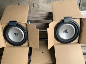 Pair JL Audio 10 inch w1 speakers for Sale in Houston, TX