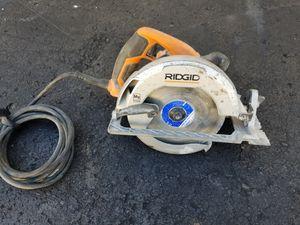 "Rigid Circular Saw R32021 7 1/4"" for Sale in McCandless, PA"