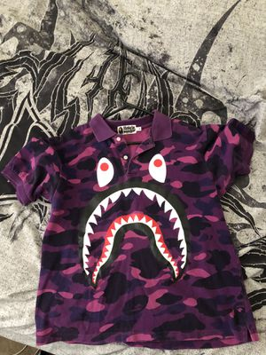 Authentic Bape Polo 🔥 SIZE M for Sale in Glendale, AZ