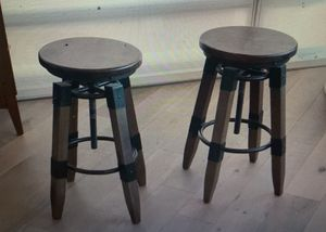 Wooden bar stools for Sale in San Francisco, CA