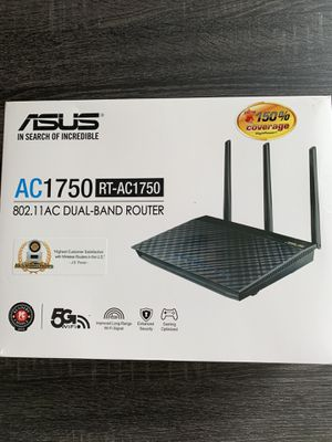 Asus AC 1750 Dual-Band Router for Sale in Miami, FL