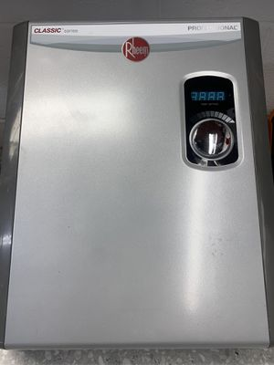 Electric hot water heater Rtex-18- new price $425 for Sale in St. Petersburg, FL