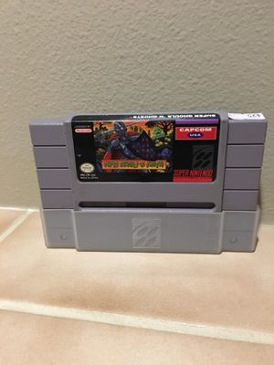 Super Ghouls N' Ghosts for Super Nintendo for Sale in Lynnwood, WA