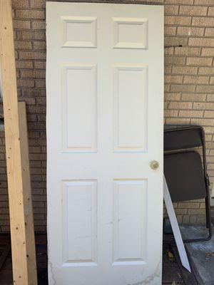 "6 Panel White Door 32"" x 80"" for Sale in Elgin, IL"