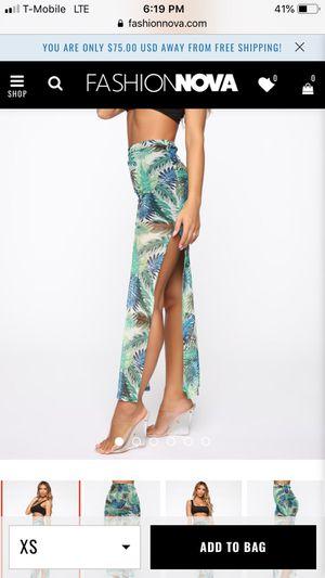 Fashion Nova maxi skirt for Sale in Boston, MA