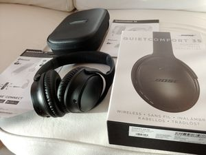 Excellent Bose Quietcomfort QC35 Bluetooth Noise Cancelling Headphones QC 35 for Sale in San Diego, CA