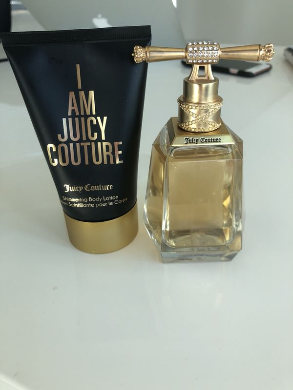 Body lotion + perfume juicy couture