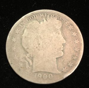 1900 Barber Silver Half Dollar for Sale in Clyde, TX