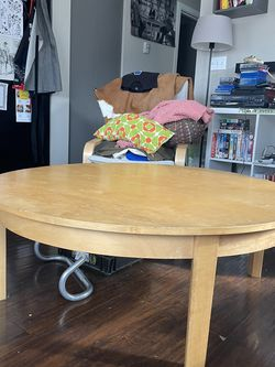 Large Round Coffee Table for Sale in Seattle,  WA