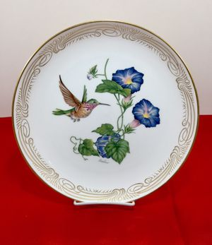 🎁 The Calliope Hummingbird Collection Plate by Edward Marshall Boehm, limited edition 1980 for Sale in Alpharetta, GA