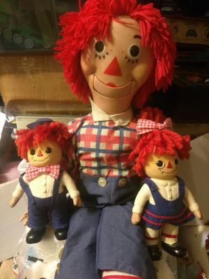 Vintage Raggedy Ann & Andy toys for Sale in Hayward, CA
