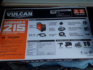 WELDER, VULCAN MIGMAX 215!!@ for Sale in Poulsbo, WA