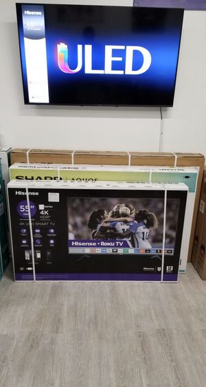 55 INCH HISENSE 4K ROKU SMART TV 📺 for Sale in Chino, CA