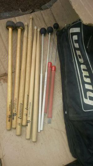 Drum stick set Ludwig bag for Sale in Centreville, VA