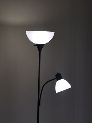 Floor Lamp Double Light for Sale in Raleigh, NC