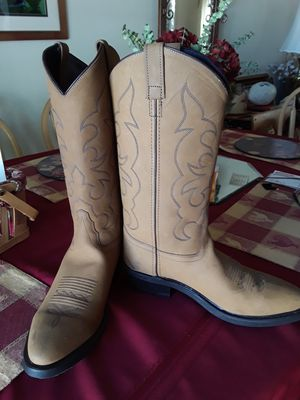 OLD WEST BRAND WESTERN BOOTS for Sale in Salt Lake City, UT